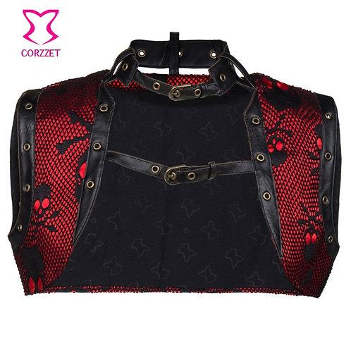 Corzzet Steampunk Jacket Burlesque Plus Size Corset Accessories Gothic Jacket