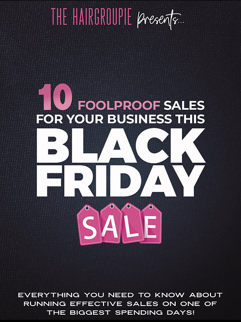 BLACK FRIDAY SALES FOR YOUR BUSINESS