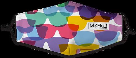 Masque textile personnalisable - mafali.