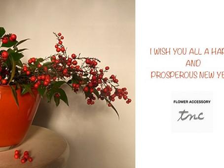 ご挨拶/I wish you all a happy and prosperous New Year 2017.