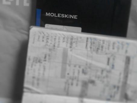 活動11か月の手帳