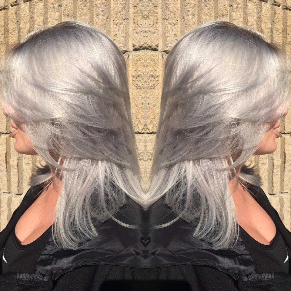 Silver hair & Cut