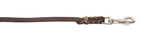 Läderkoppel 15mm 135cm