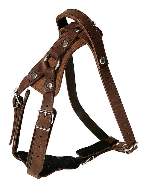 Leather Work Harness 85 - 110 cm