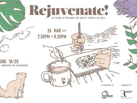 Rejuvenate! workshops
