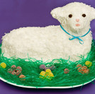 Easter Lamb Cakes!