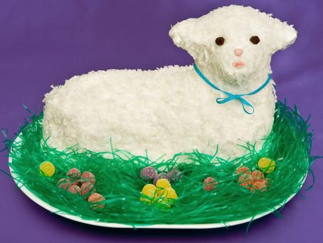 Easter Lamb Cakes!
