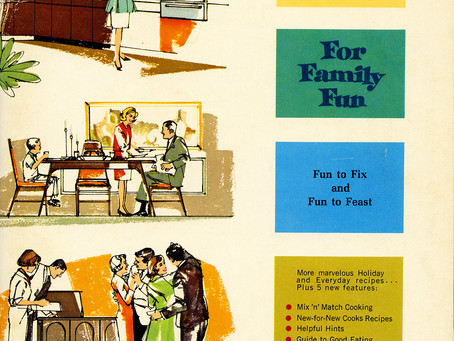 Festive Foods For Family Fun, 1966