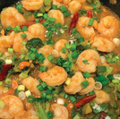 Kung Pao Shrimp and Broccoli