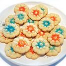 Spritz Cookies (Spritzgebäck) GERMANY