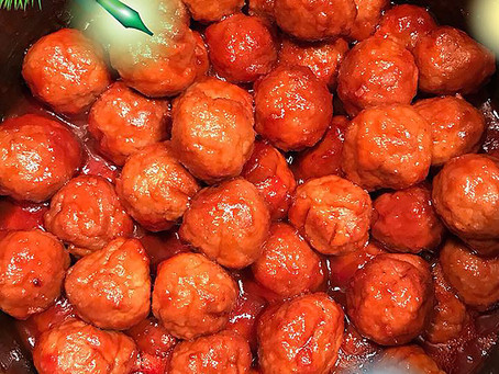 Christmas Party Meatballs