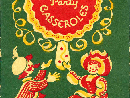 Holiday Party Casseroles, 1956