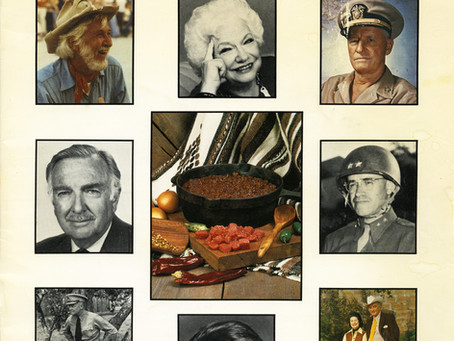 Favorite Recipes of Famous Texans