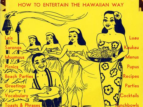 Hawaiian Party Book!