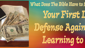 Your First Line of Defense Against Debt: Learning to Save
