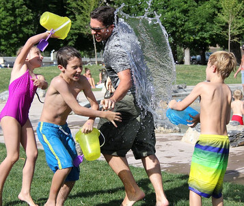Turning Summer Chores into Water War Memories