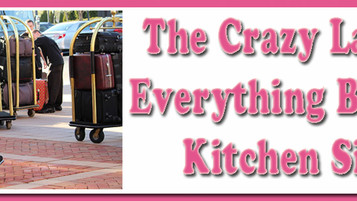 The Crazy Lady & Everything But the Kitchen Sink