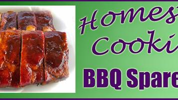 Tasty BBQ Spare Ribs
