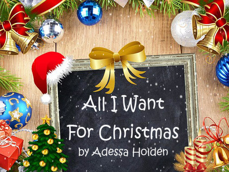 All I Want for Christmas....
