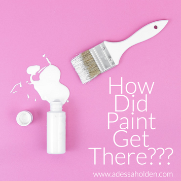 How Did Paint Get There???