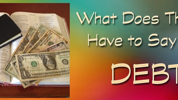 What Does the Bible Have to Say About Debt?