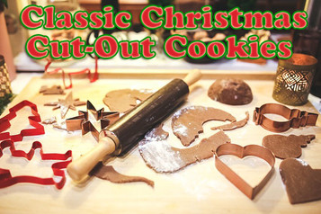 Classic Christmas Cut-Out Cookies