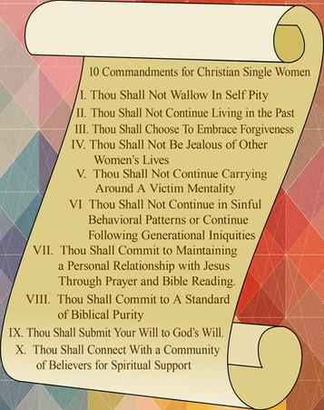 10 Commandments for Christian Single Women