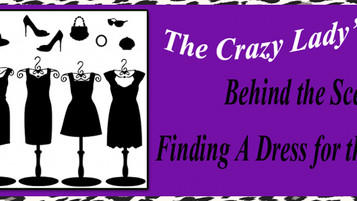 The Crazy Lady's Corner: Finding A Dress For the Big Night