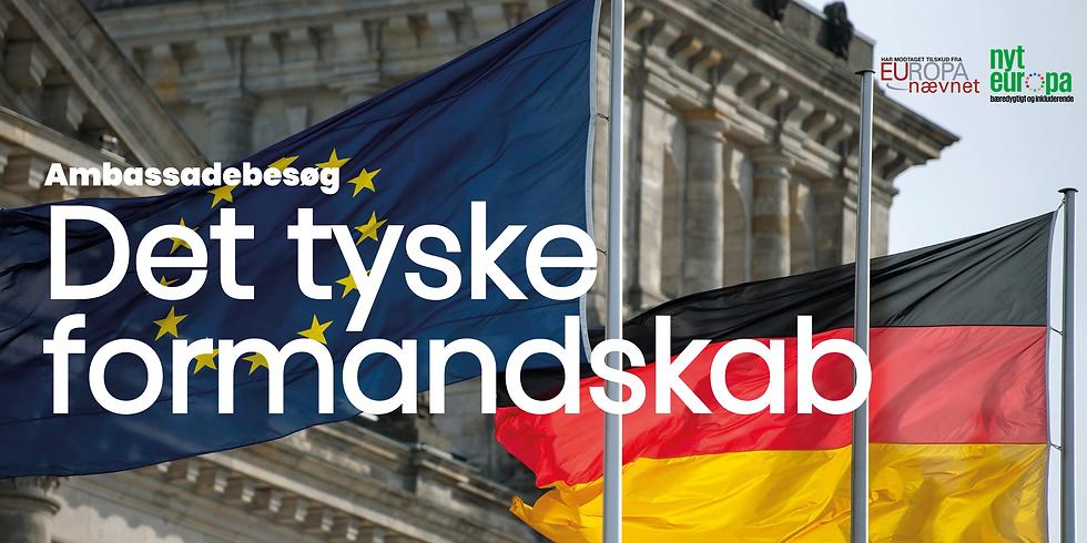 Ambassadebesøg: det tyske formandskab