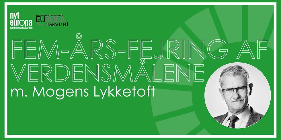 Online: Decade of Action – samtale med Mogens Lykketoft og Lone Loklindt