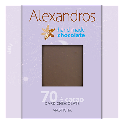 Dark chocolate masticha