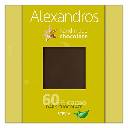 Dark chocolate stevia