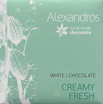 Σοκολάτα λευκή 35γρ.