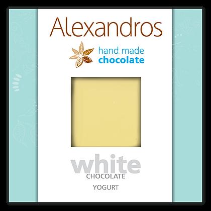 White chocolate yogurt