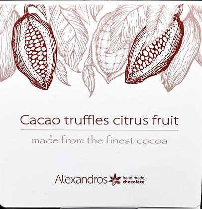 Cacao Truffles Citrus Fruit 90g