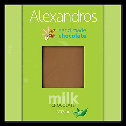 Milk chocolate stevia