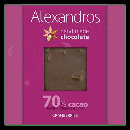 Σοκολάτα υγείας κράνμπερις