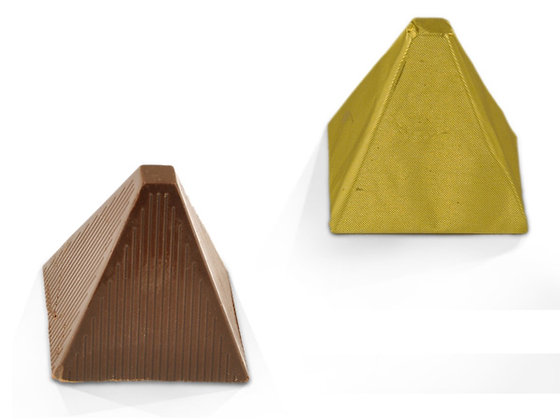Τυλιχτό σοκολατάκι υγείας πυραμίδα