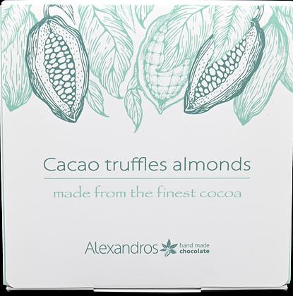 Cacao Truffles Almonds 90g.