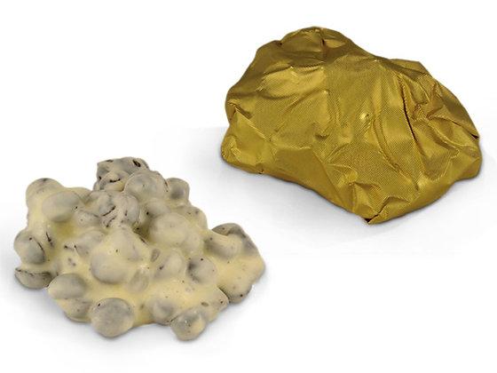 Τυλιχτό βραχάκι λευκής σοκολάτας με μπισκότο
