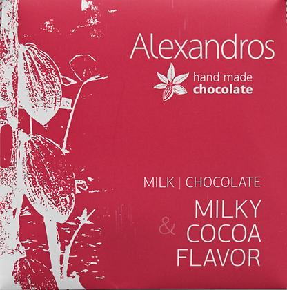 Milk chocolate cacao 35g.