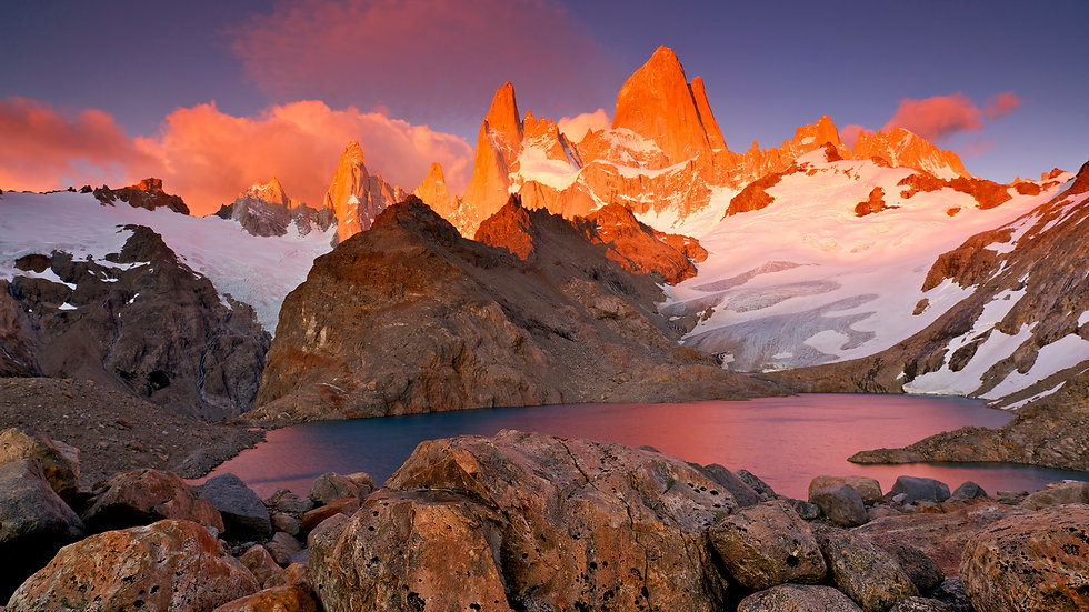 sunset_in_the_torres_del_paine_chile_hd_