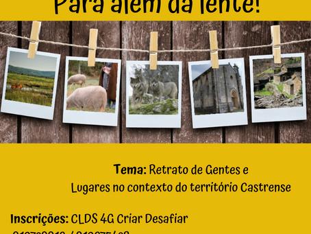 """""""Para além da Lente"""" - Concurso de Fotografia"""