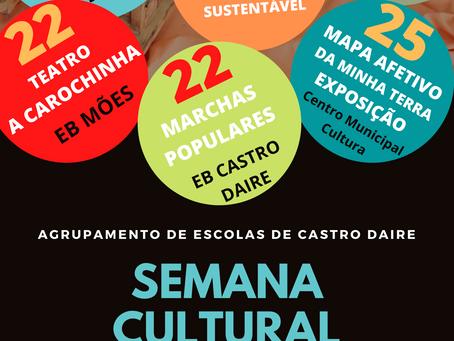 SEMANA CULTURAL DO AGRUPAMENTO I 21-25 DE JUNHO