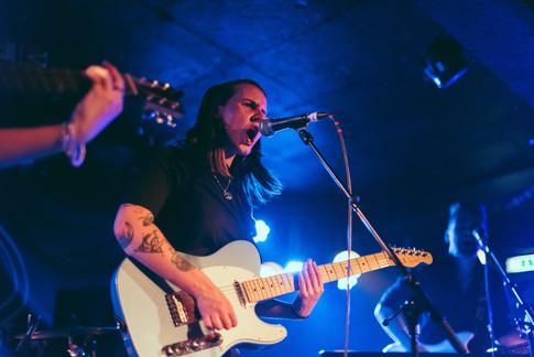 Glasgow band Sara N Junbug King Tuts gig live