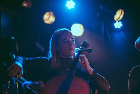 Glasgow band Sara N Junbug King Tuts gig live Freya
