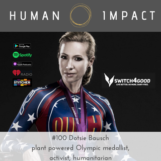 activist, humanitarian, Olympian, founder Switch4Good