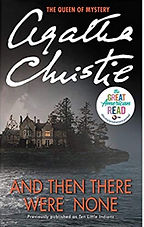 And then there were none book cover by Agatha Christie