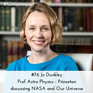 Professor Jo Dunkley on Huma Impact podcast