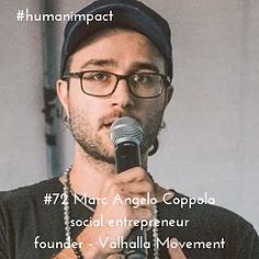 episode 72 Human Impact podcast marc angelo copolla social entrepreneur